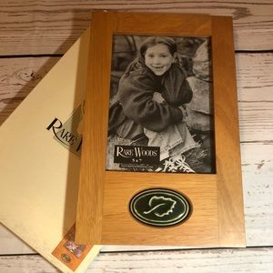 Rare Woods Collection 5x7 Light Cherry Frame